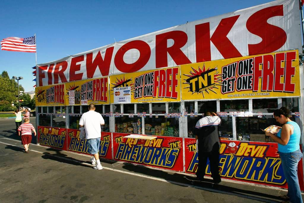Unbelievably firework sales in roadside tents ... & Big Boom: Fireworks Tents Unleashed | Developing Thoughts