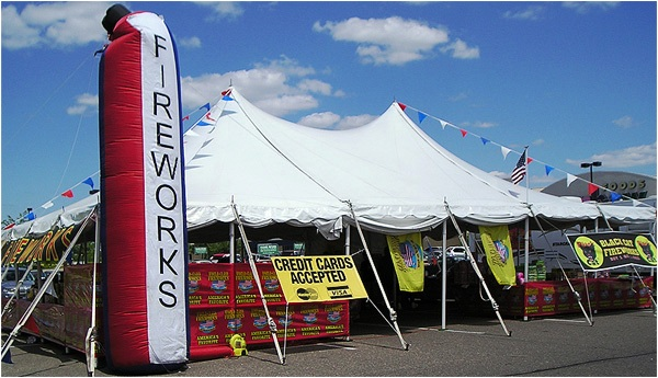 Image result for fireworks tent