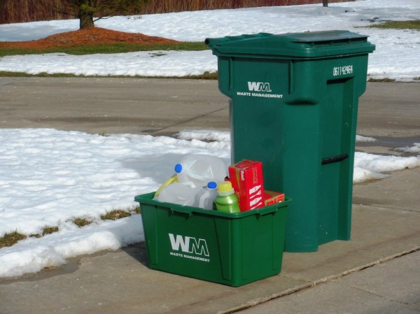 Auburn Hills' resident recycling.  Thank you!