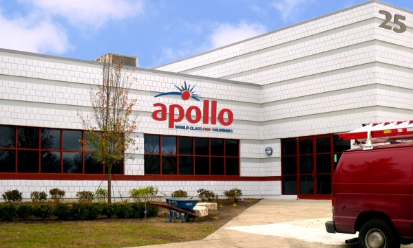 The U.S. Headquarters for Apollo America, Inc is now located at 25 Corporate Drive.