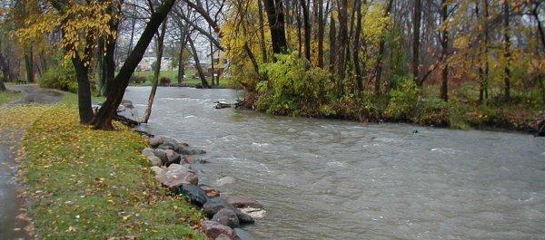 The Clinton River runs through our community.