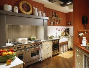 Example of a kitchen in their beautiful showroom