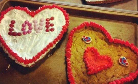 Valentine's Day cookies at Sweets! in Downtown Auburn Hills