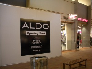 A new look and new space for Aldo
