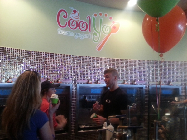 CoolYo Yogurt is great place for a cool treat this summer