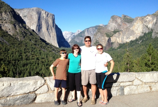 Yosemite National Park was one of our favorite places.