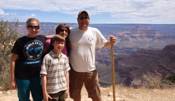 The Grand Canyon was the final stop in our adventure.