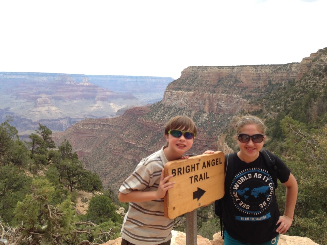 The Grand Canyon was an amazing sight.