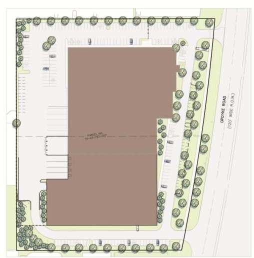 Illustrated Site Plan - TSM Corporation Expansion