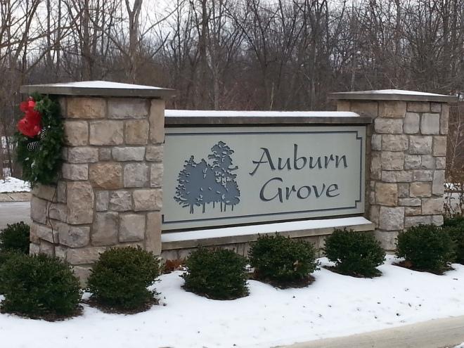 Auburn Grove Entrance