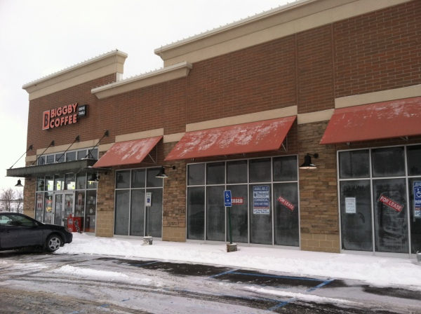 The new Subway shop will located right next to Biggby Coffee