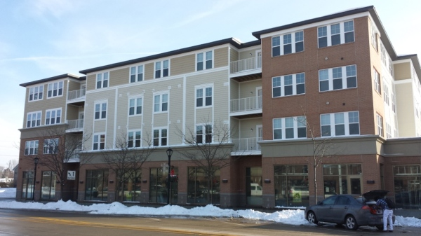 People are moving into the apartment complex in the heart of Downtown Auburn Hills