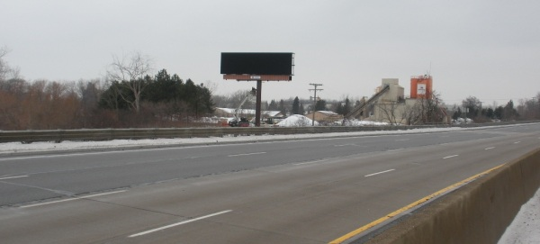 The new CBS Outdoor LED digital billboard will soon be functional on I-75, just south of Auburn Road
