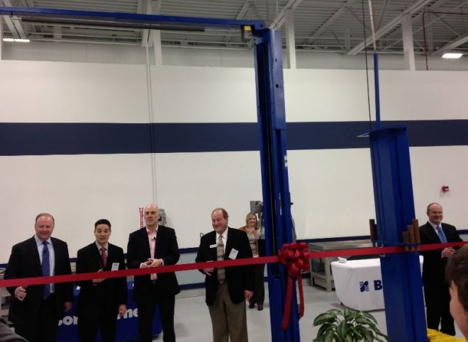 Mayor McDaniel and Mayor Pro Tem Kittle participated in the ribbon cutting.