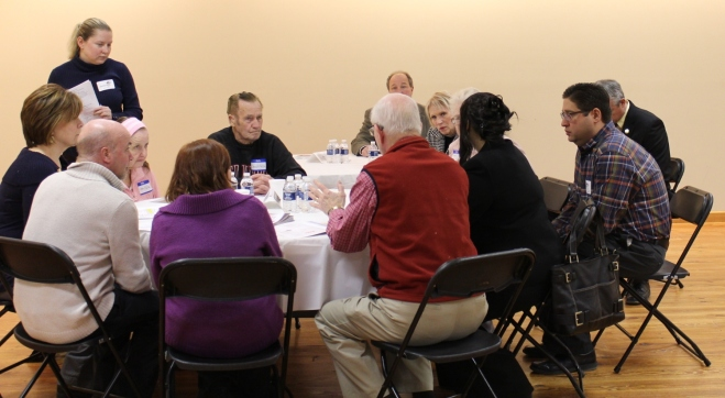 Photo taken at the February 27th meeting at the Great Lakes Golf and Sports Complex