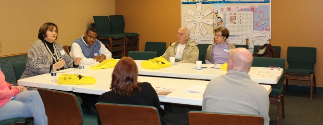 Photo taken at the March 4th meeting at the Auburn Hills Christian Center
