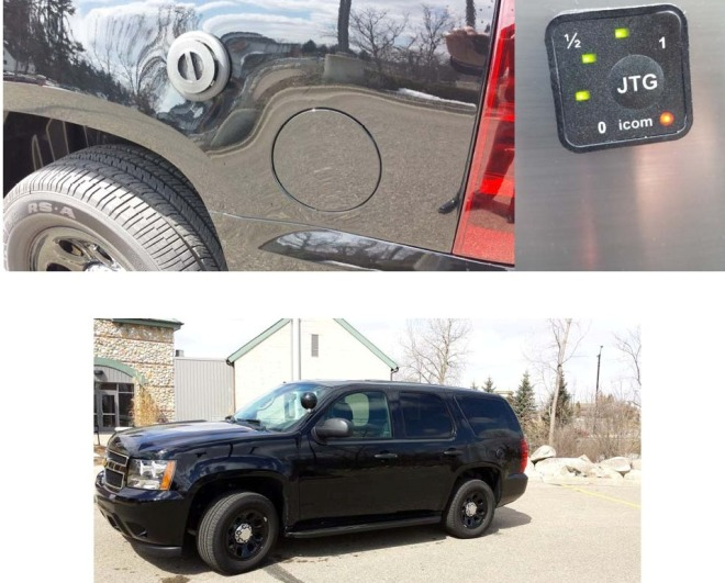 The City's Emergency Services Department uses a 2014 Chevrolet Tahoe that was retrofitted to run on both propane and gasoline.  More vehicles bi-fuel vehicles will be delivered to the City this year.