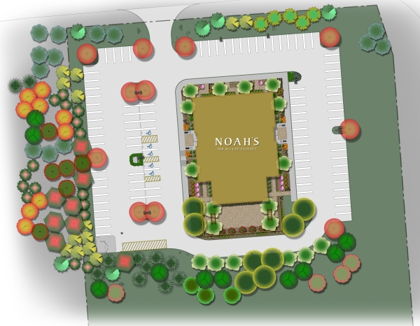 Site Plan for Noah's