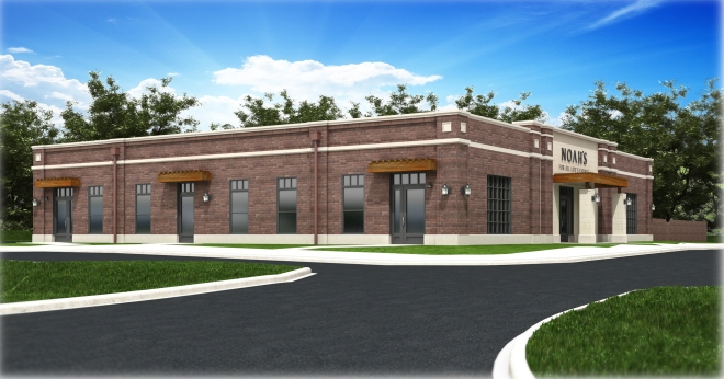 Noah's anticipates breaking ground in September with opening expected to occur sometime in April 2015.