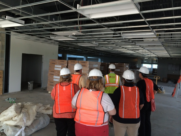 The AHU class learned about how the City works together with developers at the new GKN Headquarters