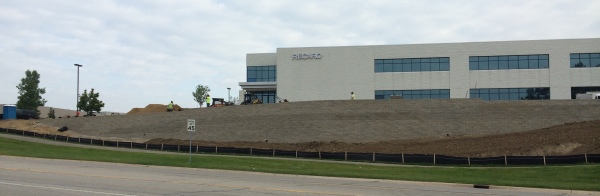 The new parking lot was needed to accommodate RECARO's recent growth in employment and business