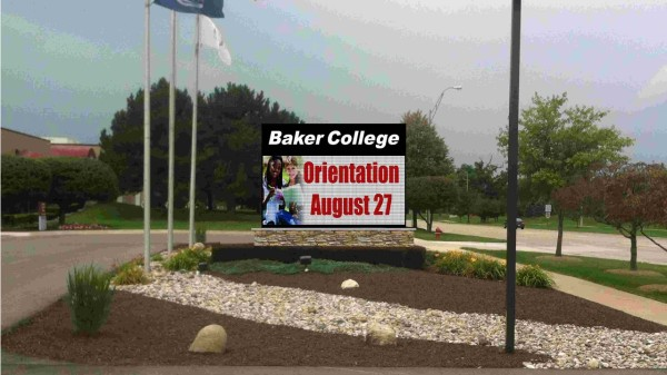 Rendering of the new sign