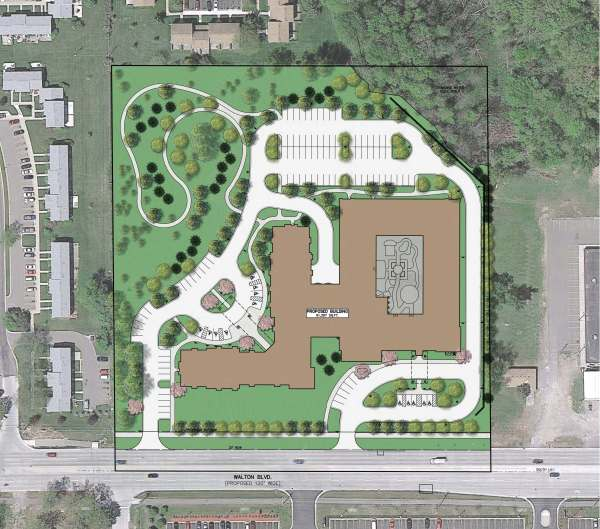 Site Plan for First & Main