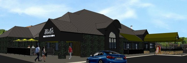 The former Elwell Grill is being transformed into a family-oriented restaurant - yet to be named