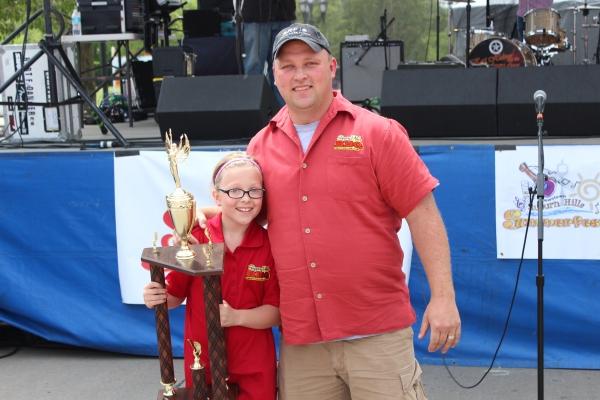 2015 Grand Champion, Slippery Pete's BBQ