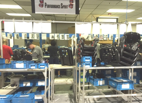 All RECARO's child safety seats sold in America are manufactured in Auburn Hills