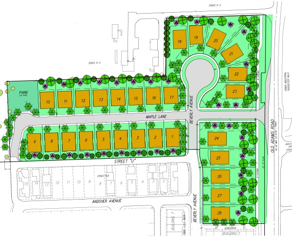 Forester Hills Site Plan