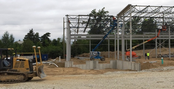 The facility is on track for completion by Spring 2016