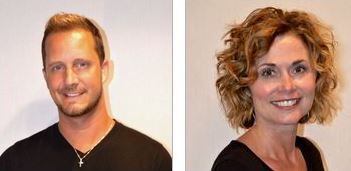 Serenity Salon Co-Owners, Brandon Rankin and Robin Bachan