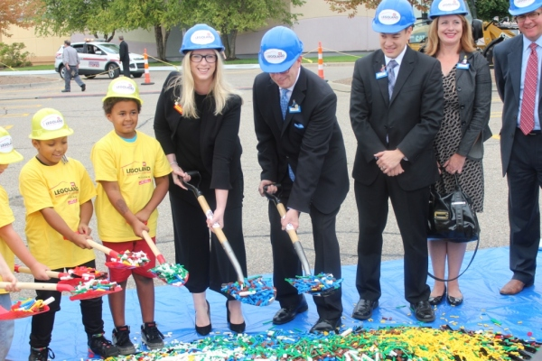 Mayor McDaniel participated in one of the most unique ground breaking ceremonies we have seen.