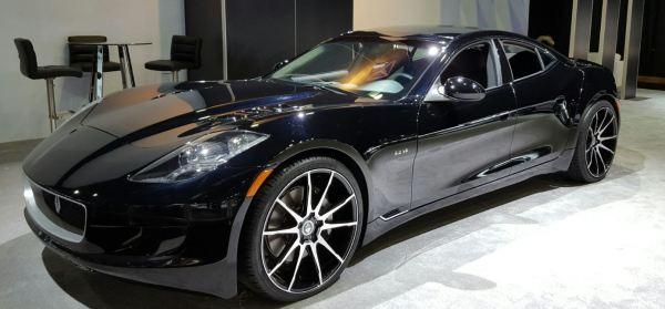 Auto Show black car