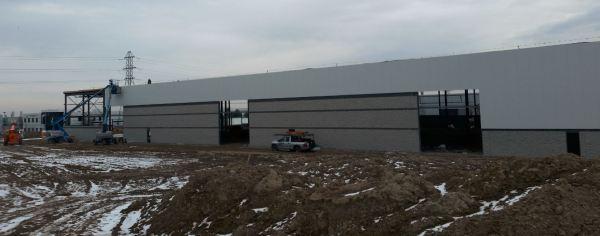 Construction progress as of January 8th