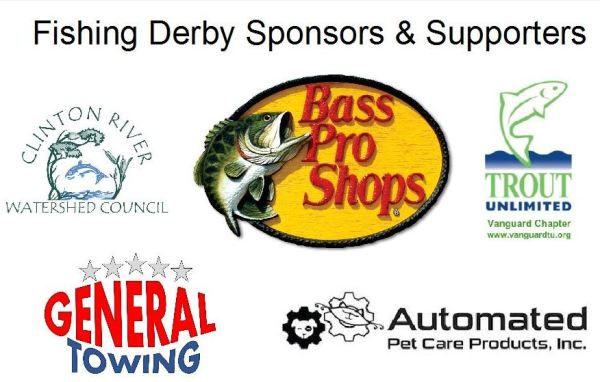 Fishing derby sponsors w title