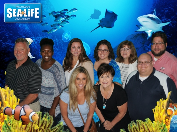 The class received a behind the scenes tour from our friends at SEALIFE Aquarum