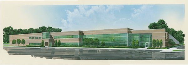 Rendering of the proposed building