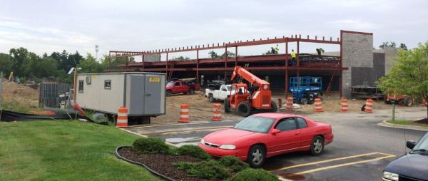 Auburn Hills Marketplace under construction
