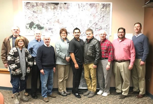 The Auburn Hills Planning Commission and Staff (12-14-16)